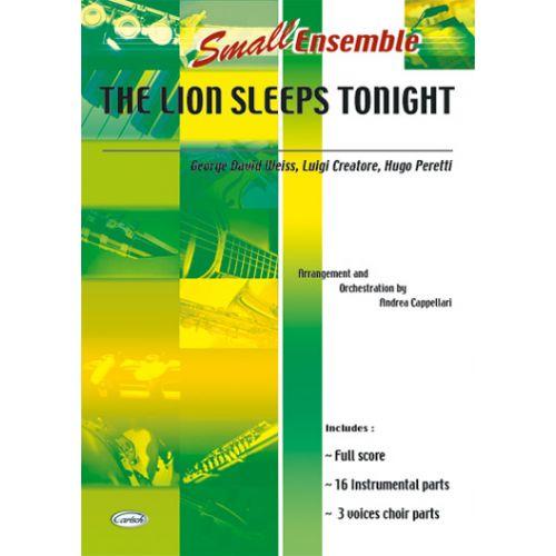 CARISCH LION SLEEPS TONIGHT - ENSEMBLE MUSICAL (REDUIT)