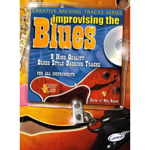 CARISCH BIANCO MIKI - IMPROVISING THE BLUES + CD - GUITARE