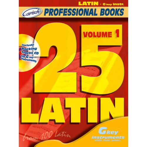 CARISCH 25 LATIN + CD - INSTRUMENTS EN DO