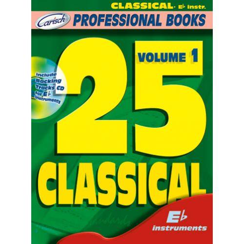 CARISCH 25 CLASSICAL + CD - INSTRUMENTS EN MIB