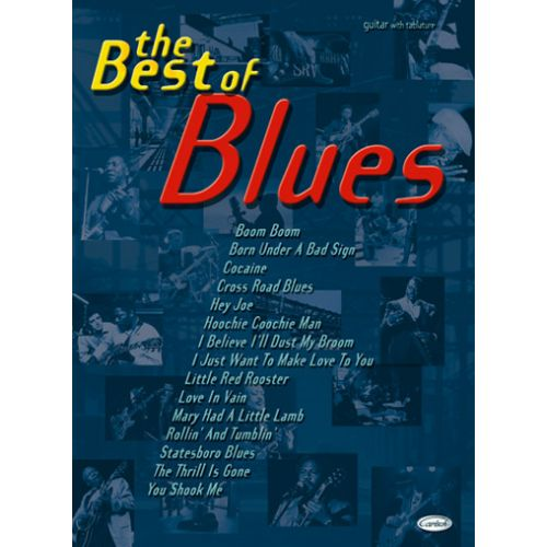 CARISCH BEST OF BLUES - GUITARE TABLATURES