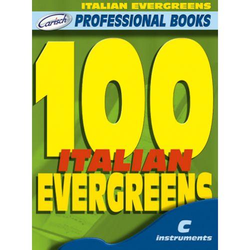 CARISCH 100 ITALIAN EVERGREENS - INSTRUMENTS EN DO