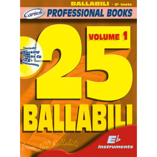 CARISCH 25 BALLABILI + CD - INSTRUMENTS EN MIB