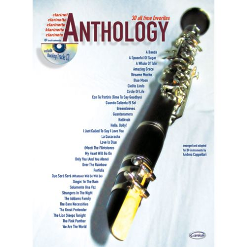 CARISCH CAPPELLARI A. - ANTHOLOGY VOL.1 + CD - CLARINETTE