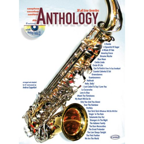 CARISCH CAPPELLARI A. - ANTHOLOGY VOL.1 + CD - SAXOPHONE ALTO