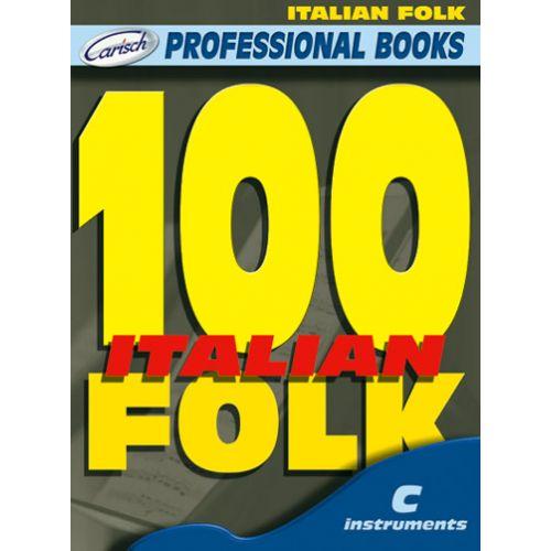 CARISCH 100 ITALIAN FOLK - INSTRUMENTS EN DO