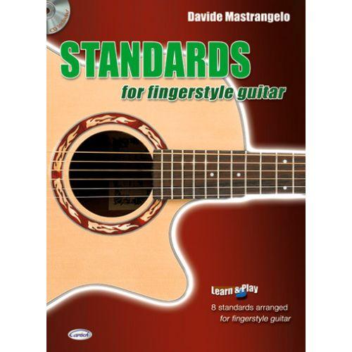 CARISCH MASTRANGELO DAVIDE - STANDARDS FOR FINGERSTYLE GUITAR + CD