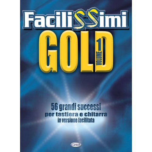 CARISCH FACILISSIMI GOLD VOL.1 - PAROLES ET ACCORDS