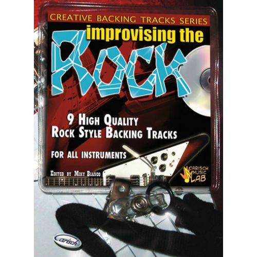 CARISCH BIANCO MIKI - IMPROVISING THE ROCK + CD - GUITARE