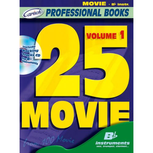 CARISCH 25 MOVIE + CD - INSTRUMENTS EN SIB