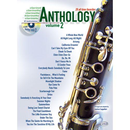 CARISCH CAPPELLARI A. - ANTHOLOGY VOL.2 + CD - CLARINETTE