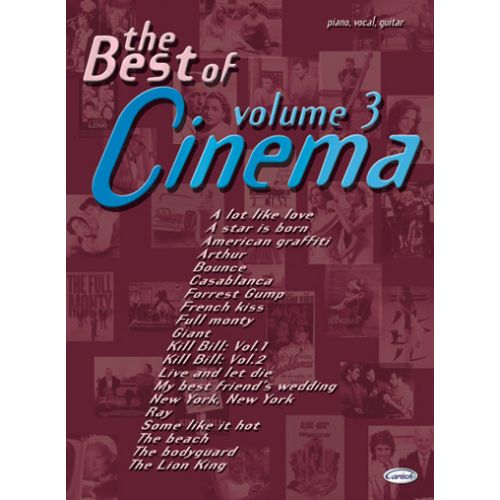 CARISCH BEST OF CINEMA VOL.3 - PVG