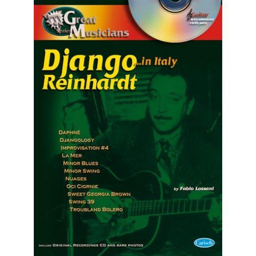 CARISCH REINHARDT DJANGO - GREAT MUSICIANS + CD - GUITARE TAB