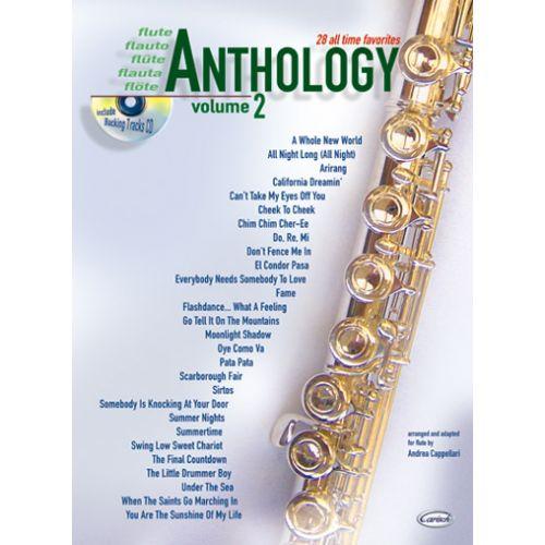 CARISCH CAPPELLARI A. - ANTHOLOGY VOL.2 + CD - FLÛTE