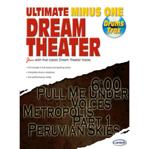 CARISCH DREAM THEATER - ULTIMATE MINUS ONE DRUM TRAX + CD