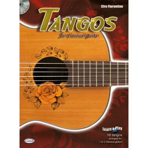 CARISCH FIORENTINO CIRO - TANGOS + CD - GUITARE CLASSIQUE