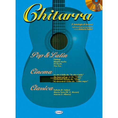 CARISCH FABBRI ROBERTO - ANTOLOGIA VOL.3 + CD - GUITARE TAB