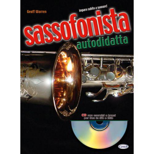 CARISCH WARREN GEOFF - SASSOFONISTA AUTODIDATTA + CD - SAXOPHONE