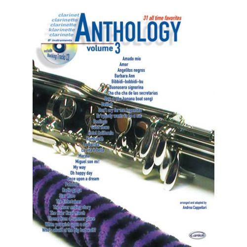 CARISCH CAPPELLARI A. - ANTHOLOGY VOL.3 + CD - CLARINETTE