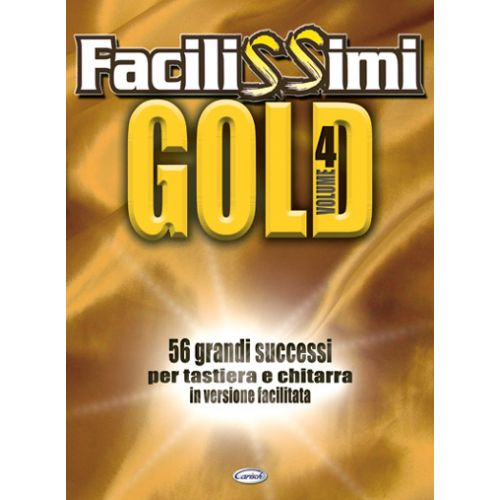 CARISCH FACILISSIMI GOLD VOL.4 - PAROLES ET ACCORDS