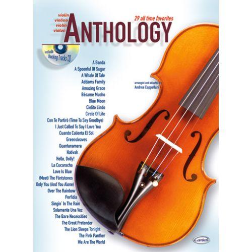 CARISCH CAPPELLARI A. - ANTHOLOGY VOL.1 + CD - VIOLON