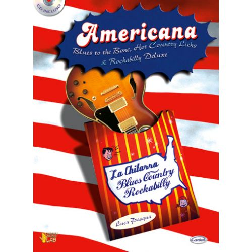CARISCH PASQUA LUCA - AMERICANA + CD - GUITARE