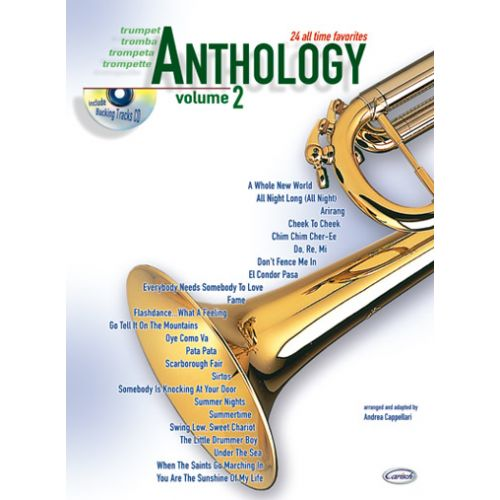 CARISCH CAPPELLARI A. - ANTHOLOGY VOL.2 + CD - TROMPETTE