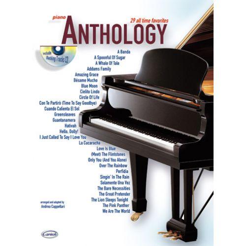 CARISCH CAPPELLARI A. - ANTHOLOGY VOL.1 + CD - PIANO
