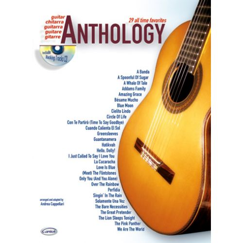 CARISCH CAPPELLARI A. - ANTHOLOGY VOL.1 + CD - GUITARE