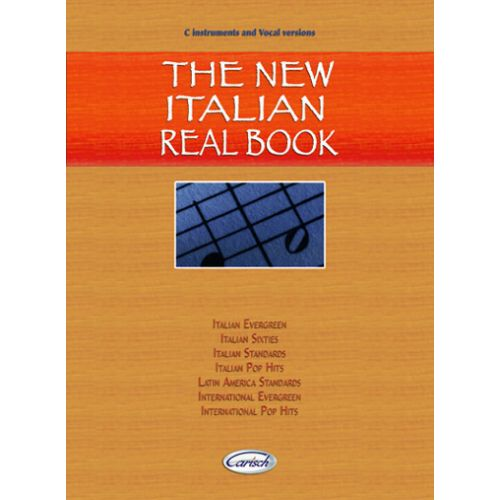 CARISCH NEW ITALIAN REAL BOOK - C INSTRUMENTS