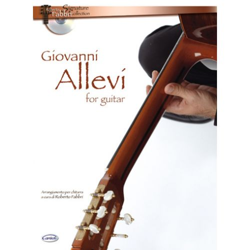 CARISCH ALLEVI GIOVANNI - GIOVANNI ALLEVI FOR GUITAR + CD