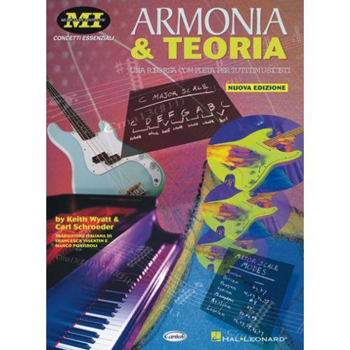 CARISCH WYATT, SCHROEDER - ARMONIA E TEORIA - FORMATION MUSICALE
