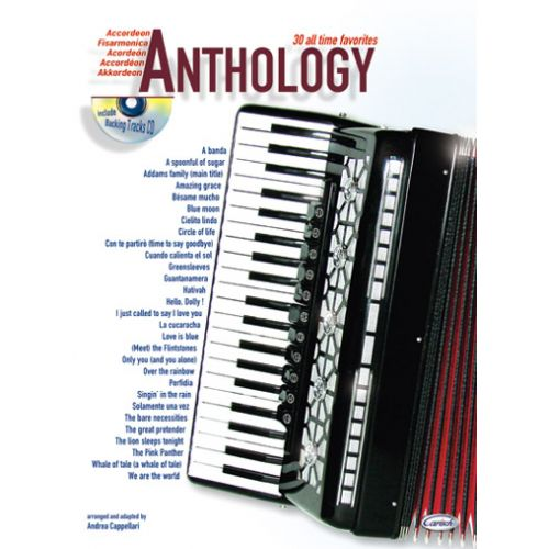 CARISCH CAPPELLARI A. - ANTHOLOGY VOL.1 + CD - ACCORDEON