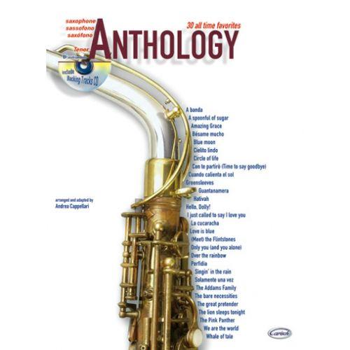 CARISCH CAPPELLARI A. - ANTHOLOGY VOL.1 + CD - SAXOPHONE TENOR
