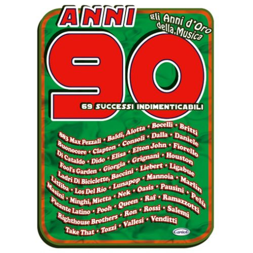 CARISCH ANNI 90 - PAROLES ET ACCORDS