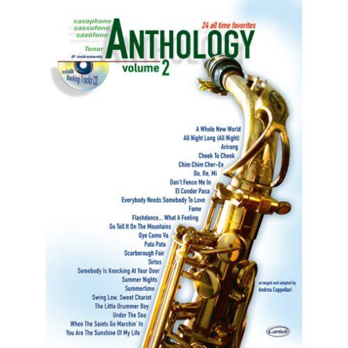 CARISCH CAPPELLARI A. - ANTHOLOGY VOL.2 + CD - SAXOPHONE TENOR