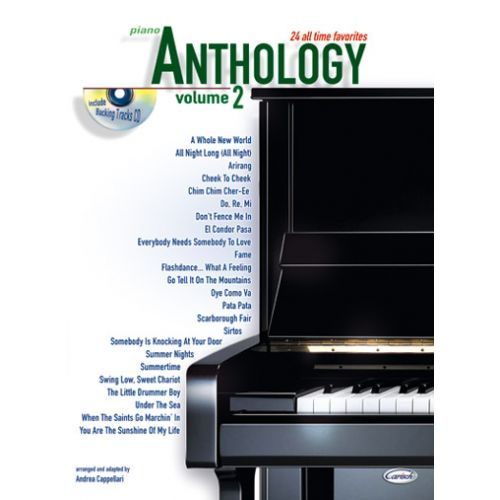 CARISCH CAPPELLARI A. - ANTHOLOGY VOL.2 + CD - PIANO