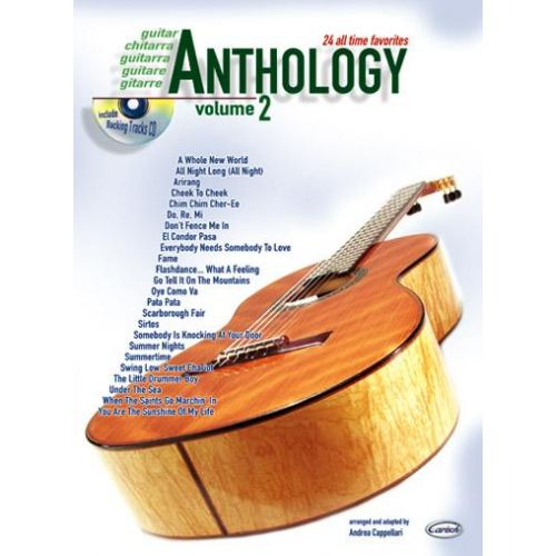 CARISCH CAPPELLARI A. - ANTHOLOGY VOL. 2 + CD - GUITARE