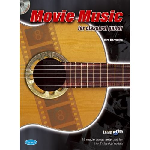 CARISCH MOVIE MUSIC CLASSICAL + CD - GUITARE
