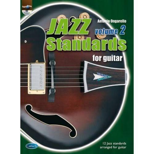 CARISCH ONGARELLO ANTONIO - JAZZ STANDARDS FOR GUITAR VOL.2