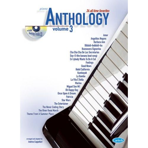 CARISCH CAPPELLARI A. - ANTHOLOGY VOL. 3 + CD - PIANO