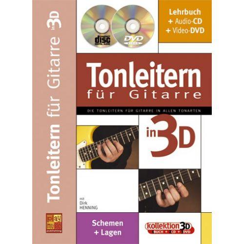 CARISCH HENNING DIRK - TONLEITEN FUR GUITARRE + CD + DVD