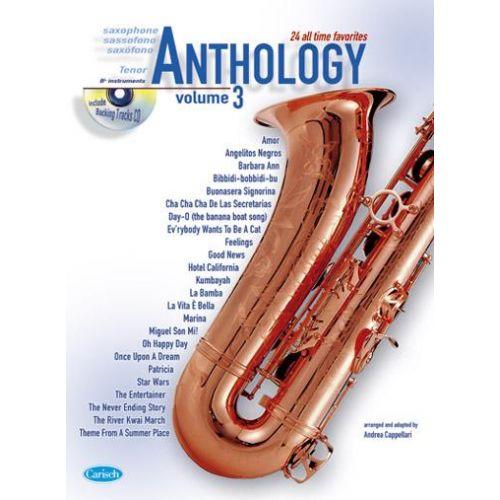 CARISCH CAPPELLARI A. - ANTHOLOGY VOL. 3 + CD - SAXOPHONE TENOR