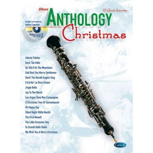 CARISCH CAPPELLARI A. - ANTHOLOGY CHRISTMAS + CD - HAUTBOIS