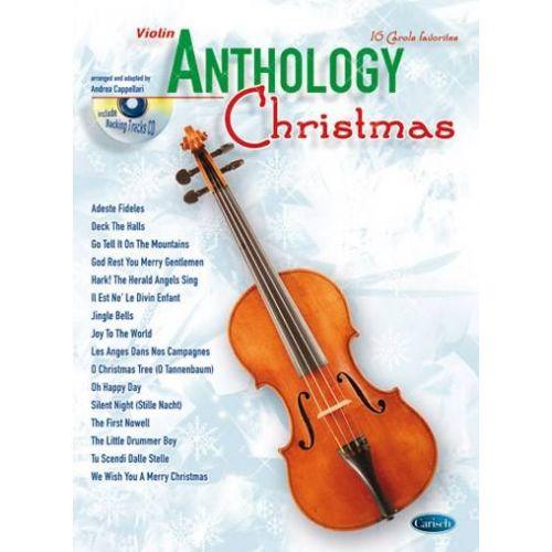 CARISCH CAPPELLARI A. - ANTHOLOGY CHRISTMAS + CD - VIOLON