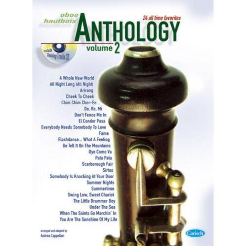 CARISCH CAPPELLARI A. - ANTHOLOGY VOL. 2 + CD - HAUTBOIS