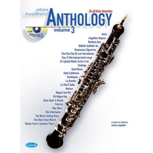 CARISCH CAPPELLARI A. - ANTHOLOGY VOL. 3 + CD - HAUTBOIS