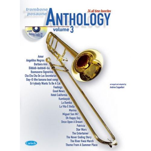 CARISCH CAPPELLARI A. - ANTHOLOGY VOL. 3 + CD - TROMBONE