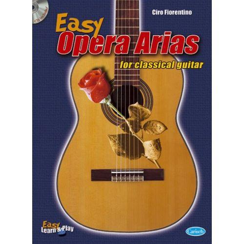 CARISCH FIORENTINO CIRO - EASY OPERA ARIAS + CD - GUITARE