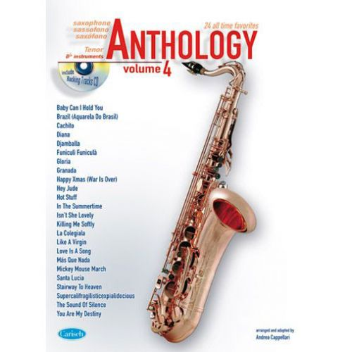 CARISCH ANTHOLOGY TENOR SAX VOL.4